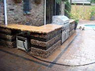 Houston, Texas, Custom BBQ, Brick pave pool surrounding