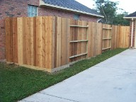houston texas privacy fence landscaping patios pergola drainage pavers