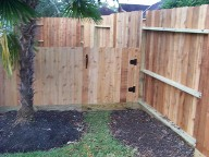 Houston, Texas, Cedar Fencing, drainage system, Landscaping, Pavers, pergola