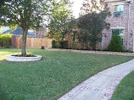 Houston, Texas, Brick Paver Patio, Fire pit, Drainage System