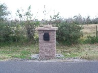 Hitchcock, Texas Custom Mailbox