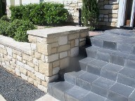 Houston, Texas, Retaining Wall, Travertine Flooring, Drainage System, Landscaping