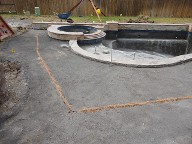 League City Texas Pool Decking Belgard Mega Arble Brick Pavers Drainage Retaining Wall Walkway Landscaping