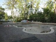 Woodlands Texas Pool Decking IPC Brick Pavers Concrete Sealer Landscaping fire Pit