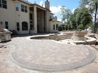 Woodlands Texas Pool Decking IPC Brick Pavers Concrete Sealer Landscaping