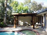 Friendswood, Texas Pergola Brick Pavers Pool Decking Drainage System Landscaping