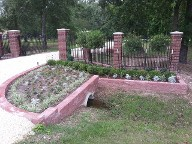 Channel View Texas, Retaining Wall, Columns, Drainage System