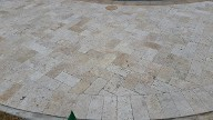 League City Texas Travertine Pool Patio, Retaining Wall, Drainage System,